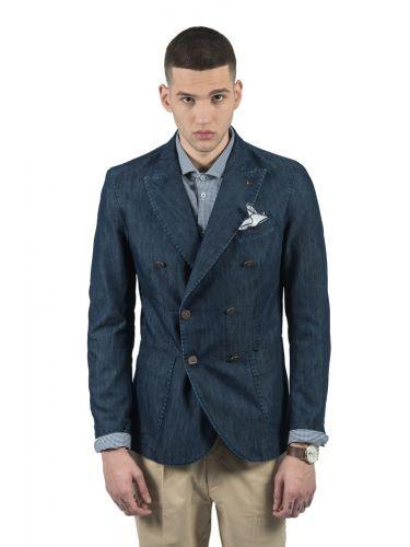 BESILENT MAN blazer BSGI0180 blue marine