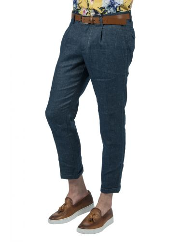 XAGON MAN chino pants P9500B blue