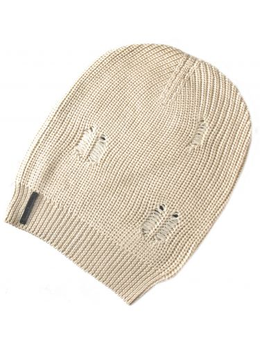 Tailor Made σκούφος πλεκτός TM12W λευκός