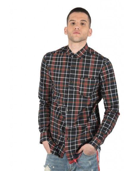 OUTCOME shirt OT231Z black