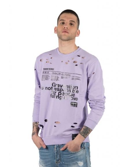 OUTCOME sweater TM30013 purple