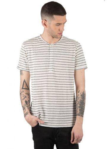 SURPLUS MAN t-shirt SW19265 off white-γκρι