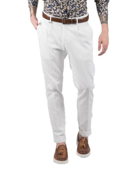 GUARDAROBA chino trousers PPP-100/01 white