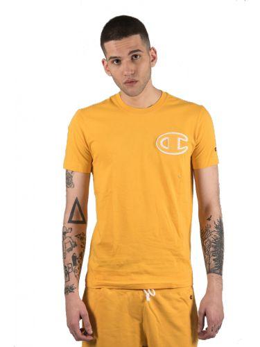 CHAMPION t-shirt 213251 κίτρινο