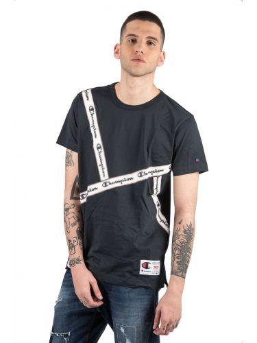 CHAMPION t-shirt 212808 μαύρο