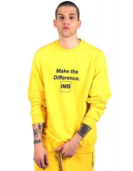 I AM BRIAN φούτερ F140/734 κίτρινο