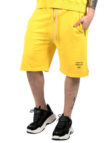 I AM BRIAN βερμούδα μακό BF140/735 κίτρινη