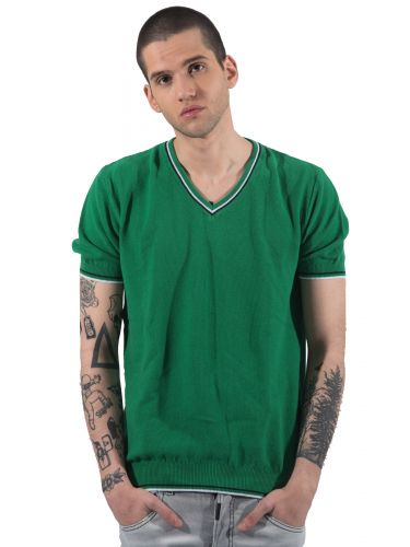 GIANNI LUPO t-shirt thread BW625 green