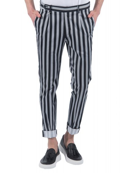 GUARDAROBA chino παντελόνι PPP-200/01 μαύρο