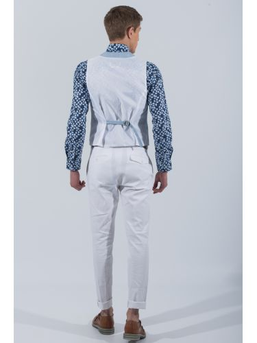 PAPILIO GARAMAS vest PGL-100/42 light blue