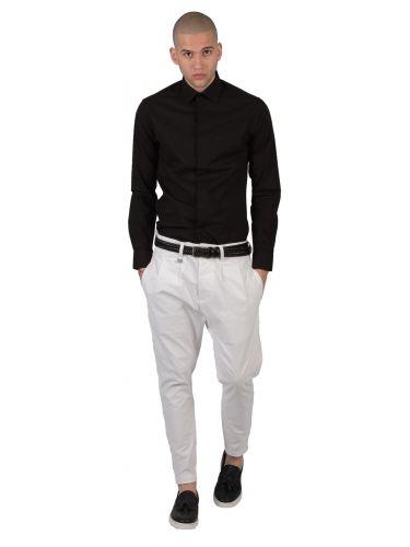 GUARDAROBA chino παντελόνι PPB-100/01 λευκό