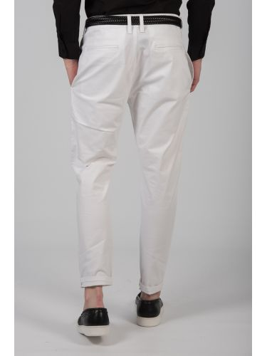 GUARDAROBA chino pants PPB-100/01 white