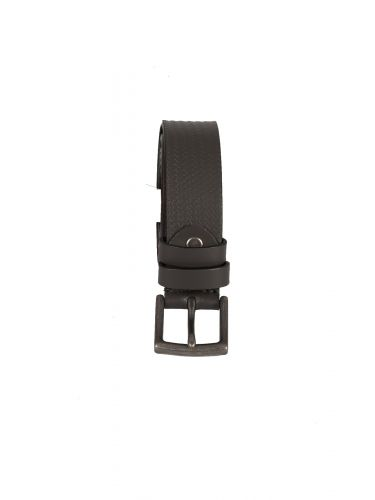 GAD ACCESSORIES leather belt NN15/1 grey