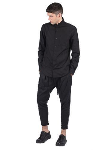 P/COC πουκάμισο P721 μαύρo