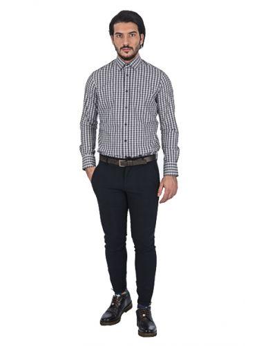 PAPILIO GARAMAS πουκάμισο PG-600/2635 γκρί