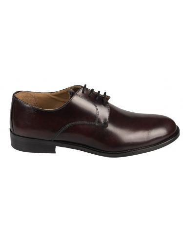 FRANCESCO BONACCIO δερμάτινο παπούτσι 600 μπορντό