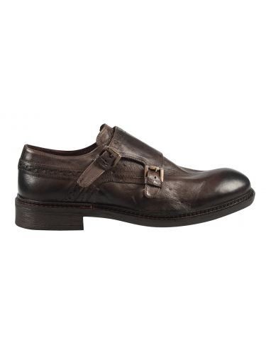 HARRY BENETT leather shoes 56951 brown