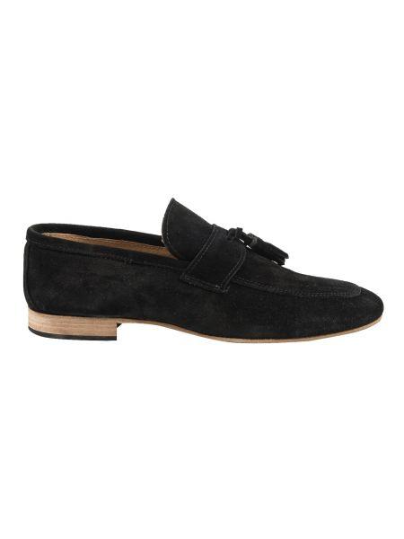 YES LONDON suede shoe CRV08-CAMOSCIO black
