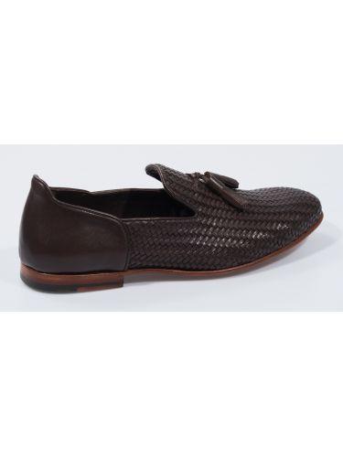 FAR UK leather slip-on 19SSH0087 brown