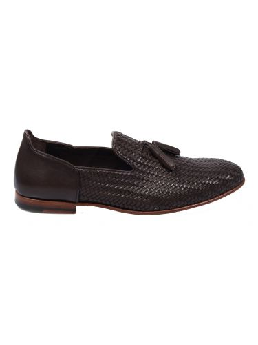 FAR UK leather slip-on 19SSH0087 brown