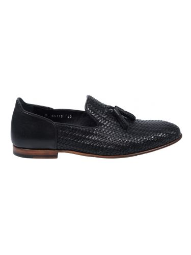 FAR UK leather slip-on 19SSH0085 black