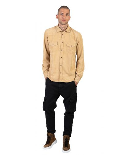 XAGON MAN shirt kotle AREESV beige