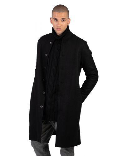 LA HAINE παλτο 3B RADICAL μαύρο