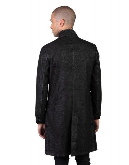 LA HAINE coat 3B PRESS black