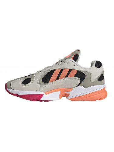 ADIDAS sneakers YUNG-1 EE5320 γκρι-πορτοκαλί