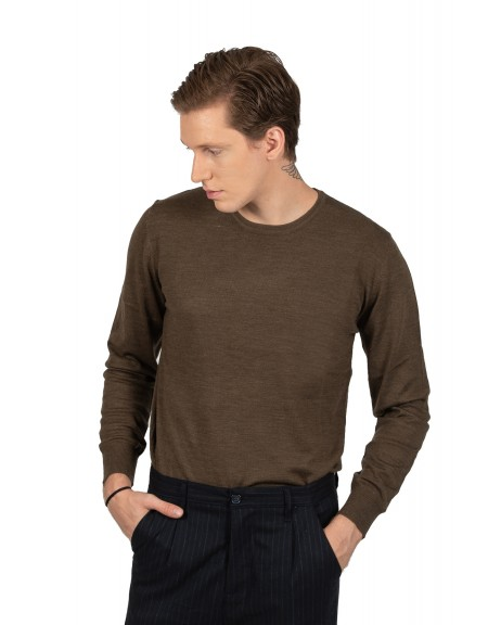 GIANNI LUPO μπλούζα GL32610B καφέ