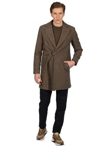BESILENT MAN παλτό BSCT0045 γκρι