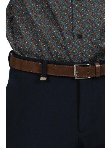 GUARDAROBA chino παντελόνι PZR-170/02 μπλε μαριν