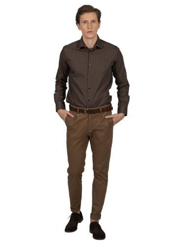 GUARDAROBA chino pants PPP-110/01 brown