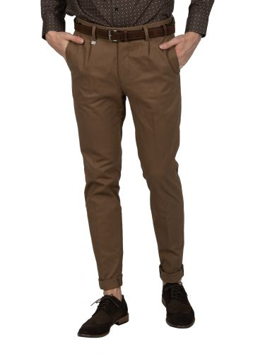GUARDAROBA chino παντελόνι PPP-110/01 καφέ