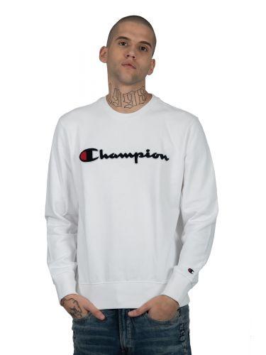 CHAMPION φούτερ 212942-WW001 λευκό