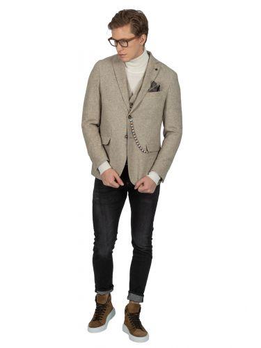 BESILENT MAN blazer BSGI0213 beige