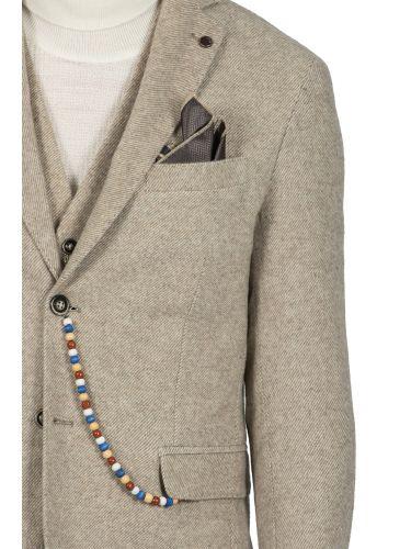 BESILENT MAN σακάκι BSGI0213 μπεζ