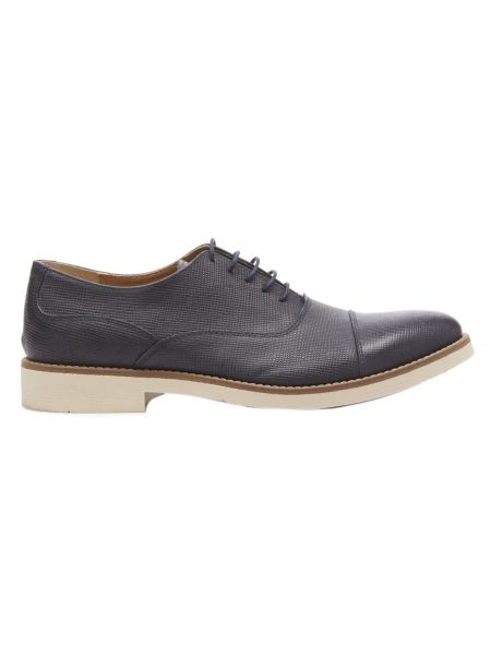 VIA DEI CALZAIUOLI δερμάτινο παπούτσι GN03-SAFFIANO-VD-GR μπλε μαρίν