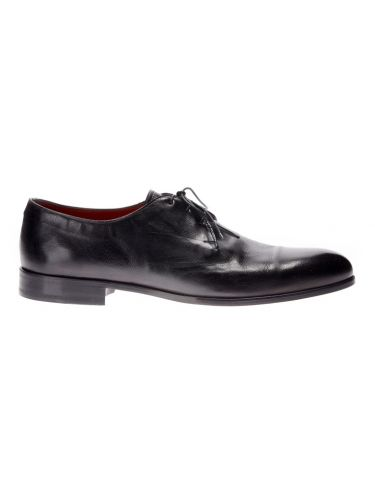 PER LA MODA leather shoes 210M/VIT/U18 black