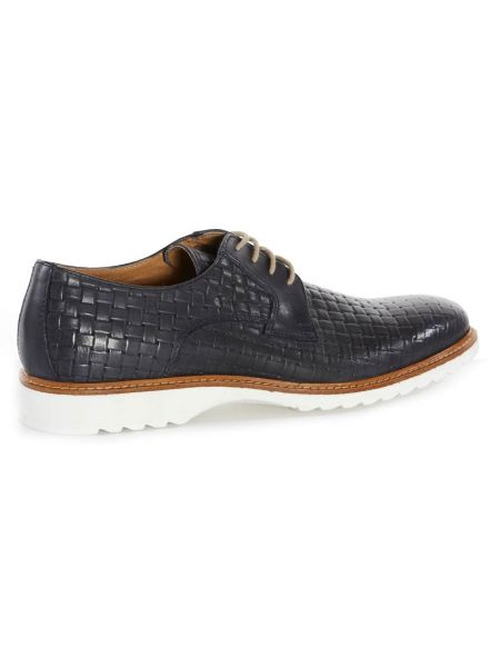 VIA DEI CALZAIUOLI δερμάτινο παπούτσι GN11-ISCVITINTREC μπλε μαρίν