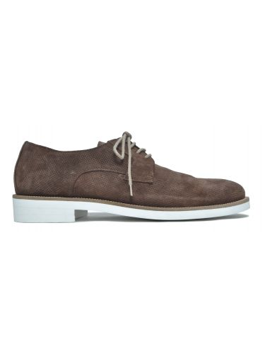 VIA DEI CALZAIUOLI suede shoes GN11-ISC-CAMOSCIO brown