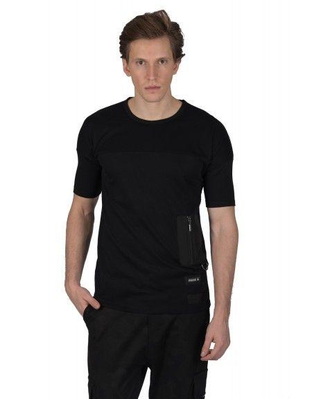 P/COC t-shirt P909 μαύρο