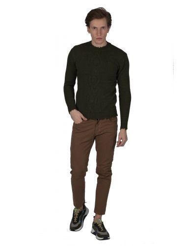 BESILENT MAN pullover BSMA0350 khaki