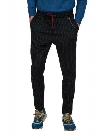 GIANNI LUPO chino παντελόνι FJ3203 μπλε μαριν