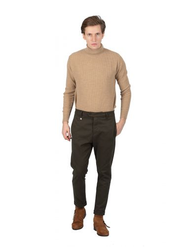 GUARDAROBA chino pants PAL-110/03 khaki