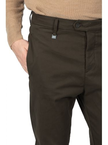 GUARDAROBA chino παντελόνι PAL-110/03 χακί