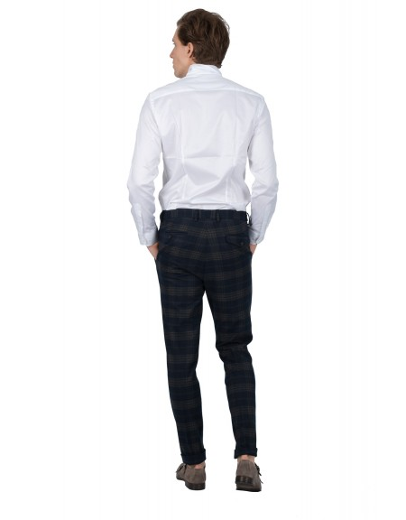 GUARDAROBA chino παντελόνι PPP-504/01 μπλε μαριν