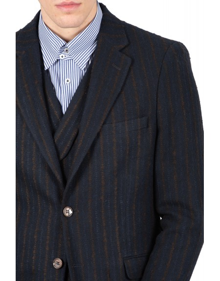 GUARDAROBA σακάκι SPF-501/02 μπλε μαριν