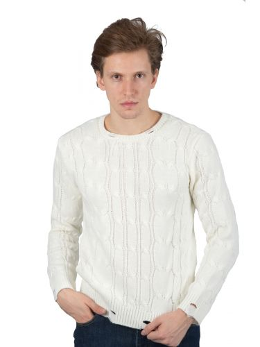 BESILENT MAN pullover BSMA0317 off white