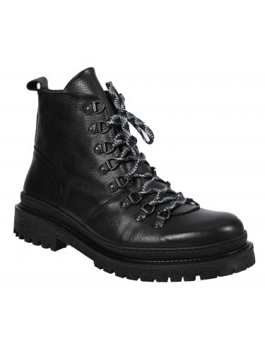PER LA MODA leather boots 9449 black